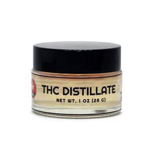 thc distillate jar