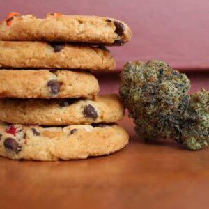 cannabis infused cookies